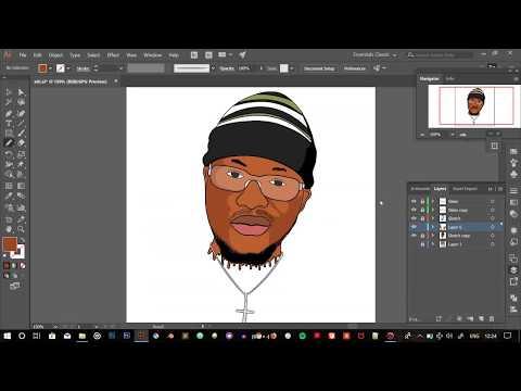 CARTOON SPEED ART TUTORIAL [DETAILS AND HIGHLIGHT] thumbnail