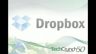 Dropbox launches on the TechCrunch stage in 2008