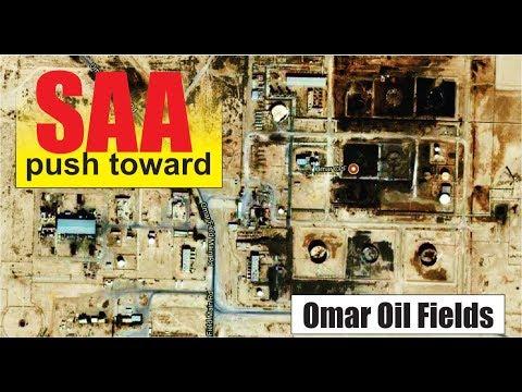 [ Syria ] [ Deir Ezzor ] SAA captured Theban town east of Al Mayadin city come to Omar Oil Field