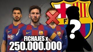 FICHAJES por 250 MILLONES! - El NUEVO BARCELONA | MODO CARRERA