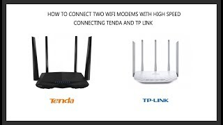 how to link routers together