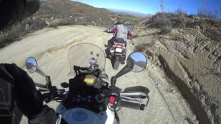 Honda CB500X Invades BMW GS Off Road Ride