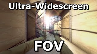 CS GO Widescreen FOV Settings