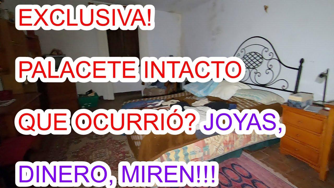 EXCLUSIVA!  PALACETE CON JOYAS, DINERO, PORQUE LO ABANDONAN? URBEX WOMAN