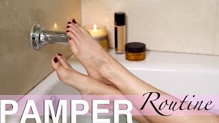 PAMPER ROUTINE | Spa Night