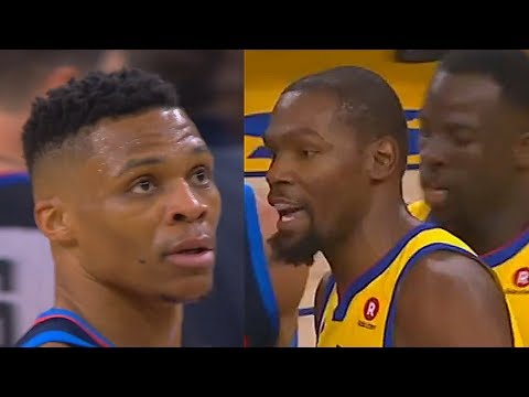 Kevin Durant EXPOSES RUSSELL WESTBROOK & THE THUNDER BY BLOWING THEM OUT!!! Thunder vs Warriors