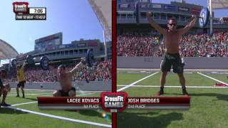Naughty Nancy: Men--Heat 2 2013 CrossFit Games
