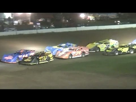 RUSH Crate Late Model Feature | McKean County Raceway | 9-7-14