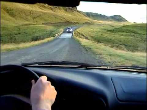 conduire en islande islande en camping car et caravane youtube. Black Bedroom Furniture Sets. Home Design Ideas