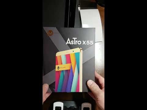 Unboxing a MAXWEST Astro X55 Unlocked Dual SIM GSM Android Smartphone