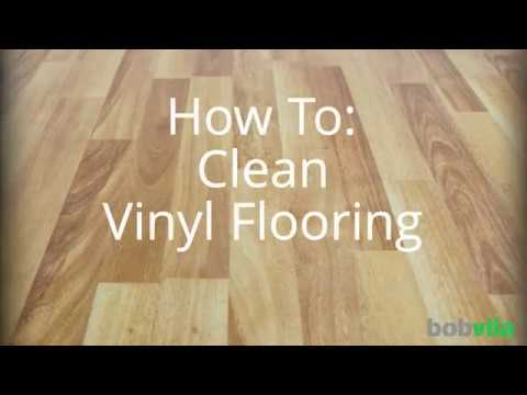 How To Clean Vinyl Flooring Youtube