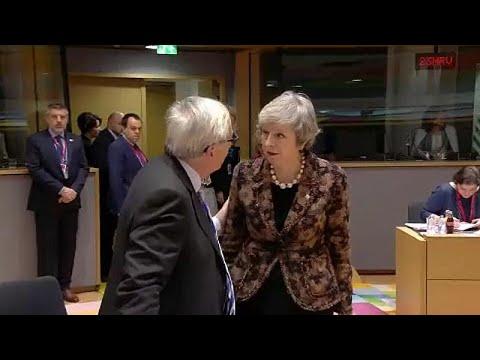 EU tells May: No renegotiation - basta!