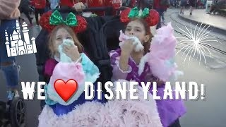 WE WENT TO DISNEYLAND!! WHAT A TYPICAL DISNEY DAY LOOKS LIKE FOR US