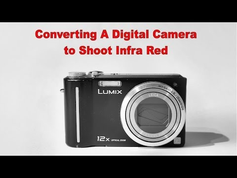Converting a Compact Digital Camera to Shoot Infrared Only - 1. removing the infrared filter