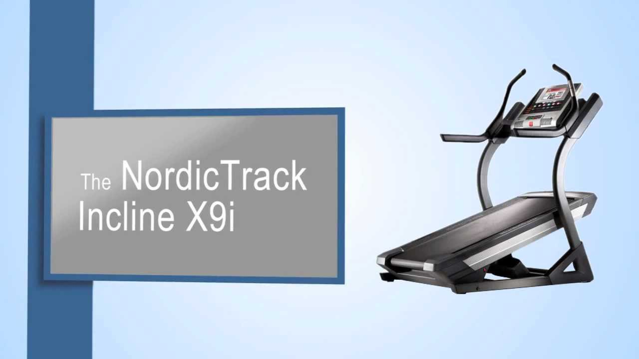 Nordictrack Incline X9i Treadmill Review Youtube