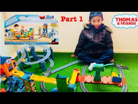 Thomas And Friends Track Master - Mad Dash On Sodor Set Unboxing 1 Of 3