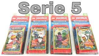 LEGO Ninjago Trading Card Game Serie 5 / Alle 4 Blister / Unboxing