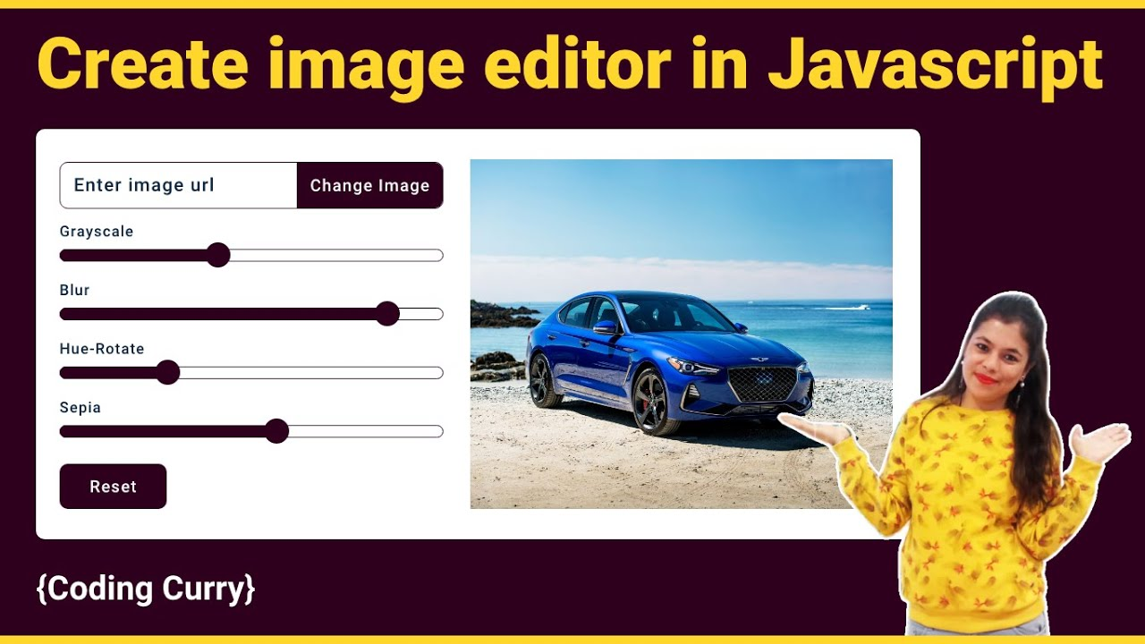 How to Create Image Editor in Javascript