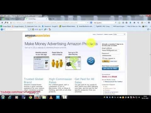 Amazon Associates/Affiliate Program Review (Earning Proof,Signup,Add Links) Guides