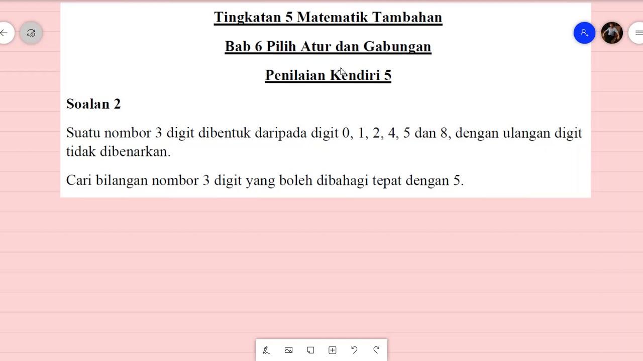Soalan Matematik Tingkatan 1 Kbsm - Contoh Sep