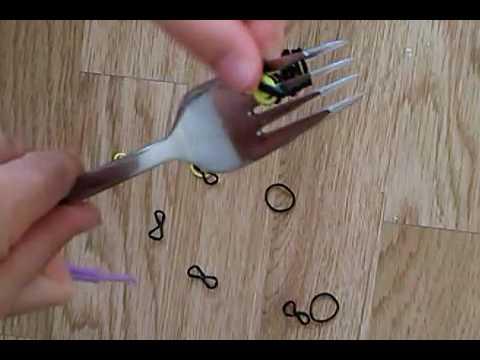 Comment faire une fleur en lastique sans machine youtube - Comment faire une fleur en elastique ...