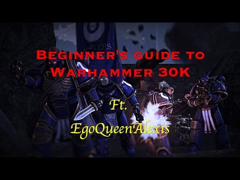 Getting Started in 30k/Horus Heresy ft. EgoQueenAlexis