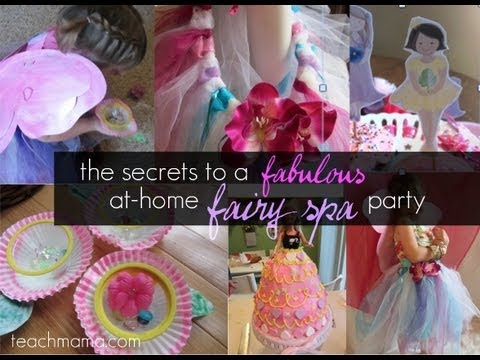 Secrets To An Awesome Fairy Party Kids Birthday Party Crafts