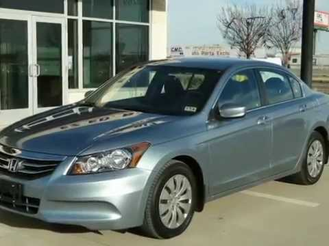 2012 Honda Accord Sdn 4dr I4 Auto LX (Grand Prairie, Texas) Buy here pay here, No credit check.