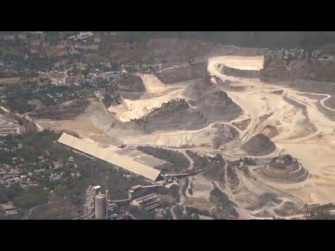 Aerial View of Apo Cement Corporation, Cebu, Philippines