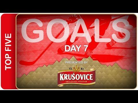 Top 5 Goals   Day 7   #IIHFWorlds 2016