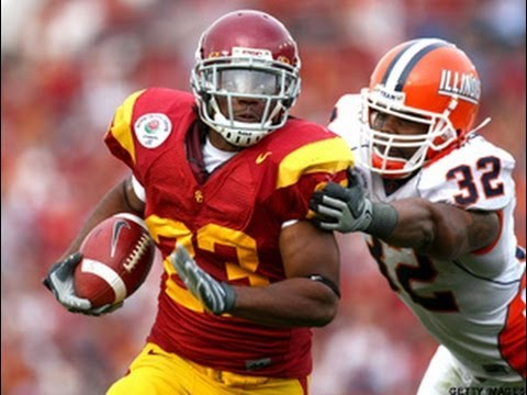 2008 Rose Bowl  #13 Illinois (9-3) vs #6 USC (10-2) 2nd half