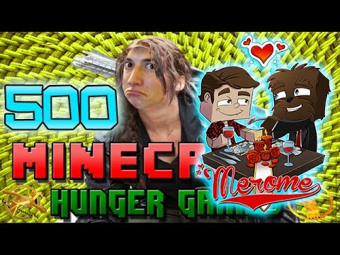 "Minecraft: Hunger Games w/Mitch! Game 500 - ""A TALE OF #MEROME"""