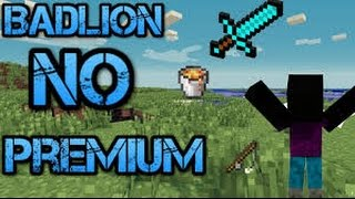 MINECRAFT BADLION SERVERI NO PREMIUM PREMIUMSUZ SERVER IP 1.7 x 1.8