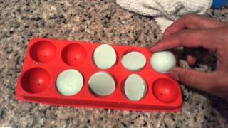 White Chocolate Blueberry Martini Jello Shots