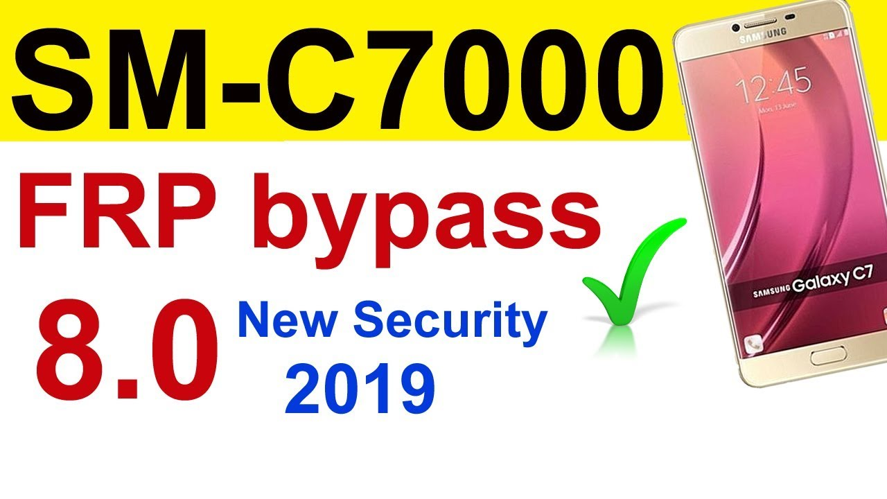 How to reset FRP C7000 8 0 FRP bypass google account New Security 2019  Urdu/Hindi