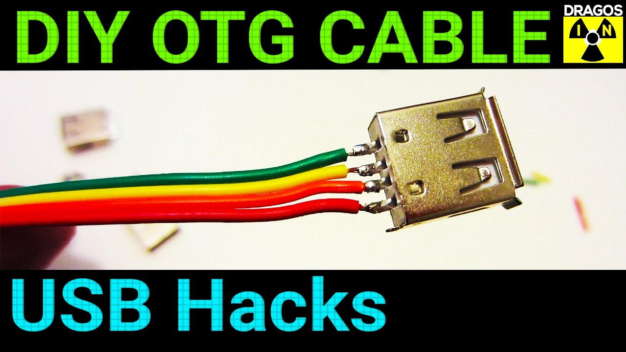 Diy Otg Cable Youtube Manual Guide