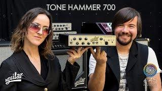 Aguilar® Amplificador Bajo Cabezal Tone Hammer® 700 700W video