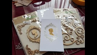 GoPress and Foil  - Using thin wooden embellishment as hot foil stamps