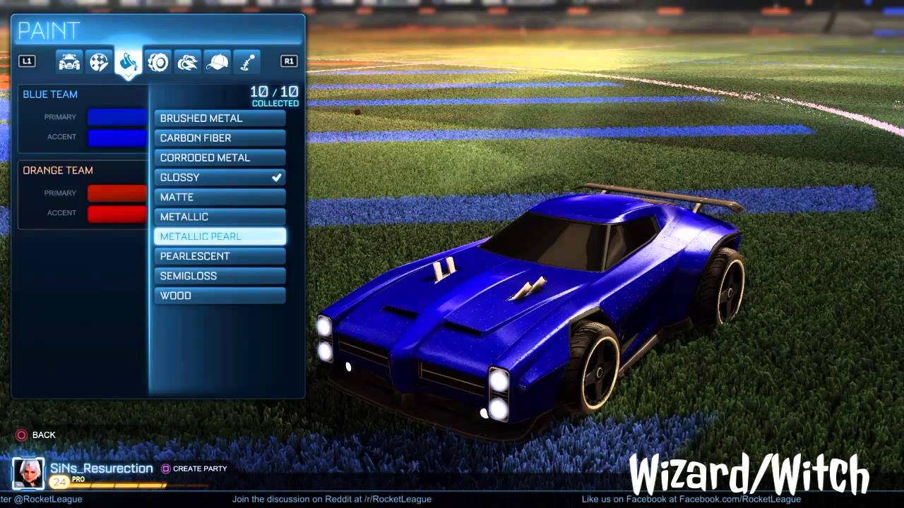 Best Custom Cars Rocket League