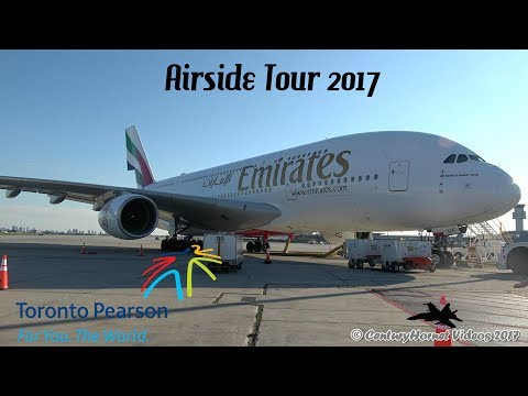Toronto Pearson Int'l Airside Tour July 5, 2017