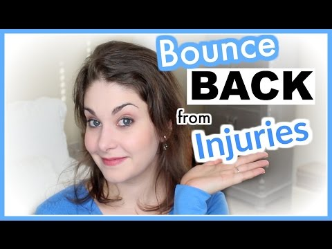 5 Tips to Quickly Bounce Back from Injuries | Kathryn Morgan