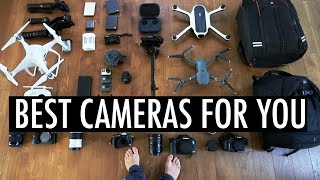 BEST CAMERA AND EQUIPMENT OF 2017 - WHICH ONE IS FOR YOU?
