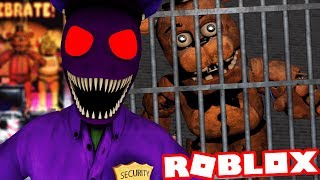TRAPPED IN AN ANIMATRONIC PRISON! | Roblox Freddy's Prison Escape (Five Nights at Freddys)