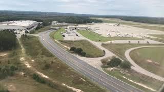 Airplane Landing- Columbia, SC
