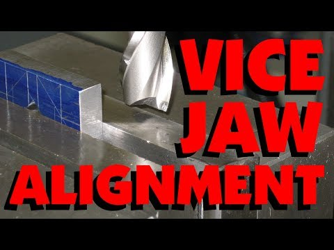 HOW TO ALIGN A MILLING VICE (TRAMMING A MACHINE VISE, TRUING A VISE) FOR BEGINNERS! MARC LECUYER