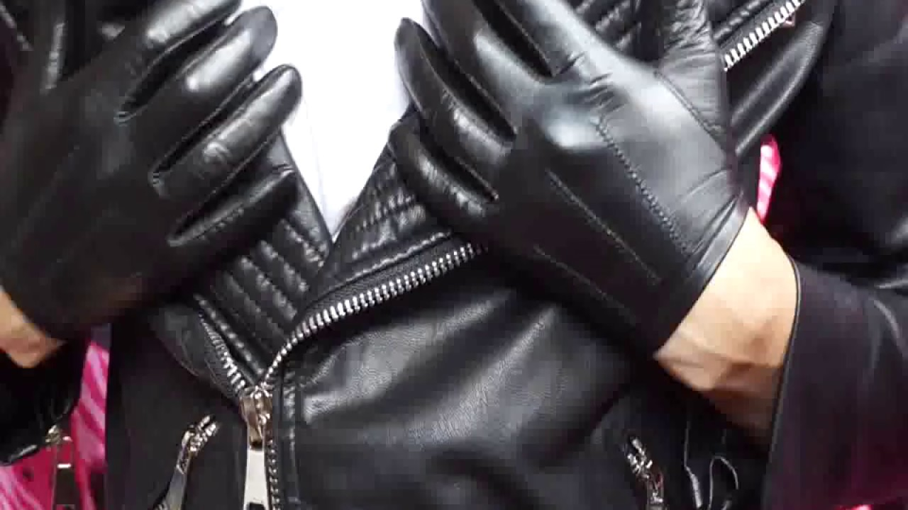 Tight leather gloves - YouTube bdad65a0c