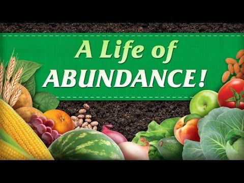 A Life of Abundance!