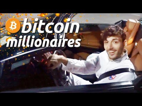 Bitcoin Millionaire Drives His First Car