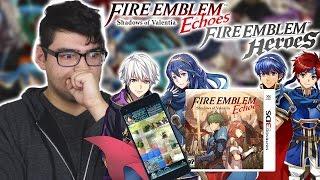 Fire Emblem Echoes and Fire Emblem Heroes Nintendo Direct Live Reaction