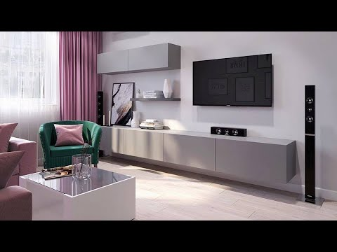 Tv Stand Decor Ideas Modern Tv Stand 2019 Youtube